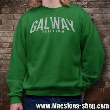 "Cities Of Ireland ""Galway"" Sweatshirt (green)"