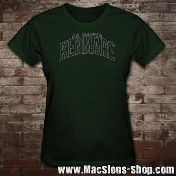 "Cities Of Ireland ""Kenmare"" Girly-Shirt (green/grey)"