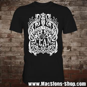 "Clan ""Celtica"" T-Shirt (black/white)"