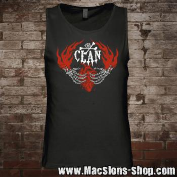 "Clan ""Here To Stay"" Tank-Top (black)"