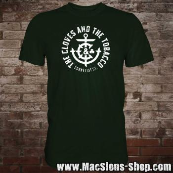 "Cloves And The Tobacco ""Cornelist St."" T-Shirt (green)"