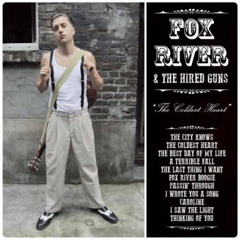 "Fox River & The Hired Guns ""The Coldest Heart"" LP"