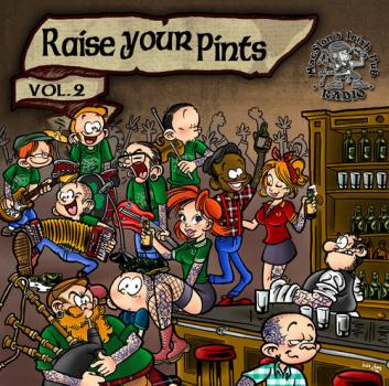 "V.A. ""Raise Your Pints Vol.2"" CD"