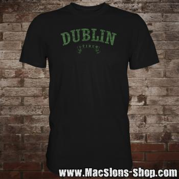 "Dublin ""Éire"" T-Shirt (black-green)"