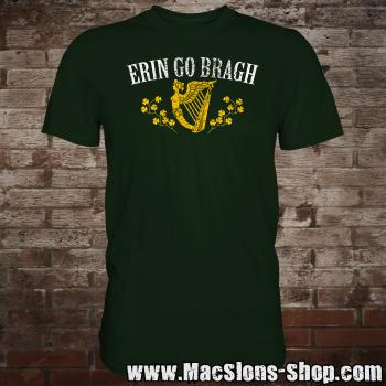 "Erin Go Bragh ""Harp"" T-Shirt (green)"