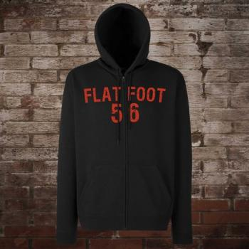 "Flatfoot 56 ""Hockey"" Zip-Jacke (black/red)"