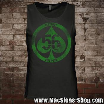 "Flatfoot 56 ""Spade"" Tank-Top (black/green)"