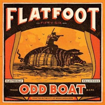 "Flatfoot 56 ""Odd Boat"" LP+MP3 (lim. 500, red) (US-Version)"