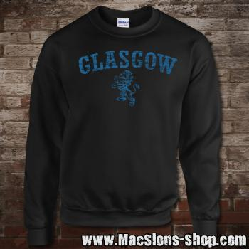 "Glasgow ""Lion"" Sweatshirt (black/navy)"