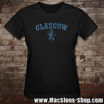"Glasgow ""Lion"" Girly-Shirt (black-navy)"