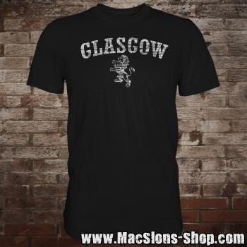 "Glasgow ""Lion"" T-Shirt (black)"