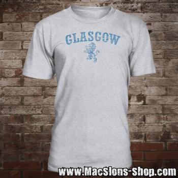 "Glasgow ""Lion"" T-Shirt (grey-navy)"