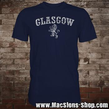 "Glasgow ""Lion"" T-Shirt (navy)"