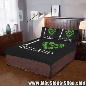 """I Love Ireland"" Bettwäsche-Set (3-tlg)"