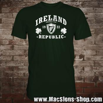 "Ireland ""Republic"" T-Shirt (green/white)"