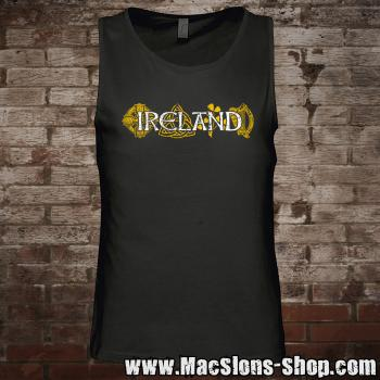 "Ireland ""Symbols"" Tank-Top (black)"