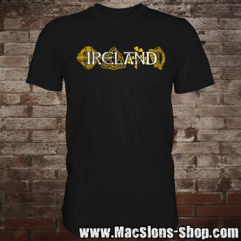 "Ireland ""Symbols"" T-Shirt (black)"