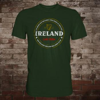 "Ireland ""Born In Me"" T-Shirt (green)"