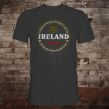 "Ireland ""Born In Me"" T-Shirt (graphite)"