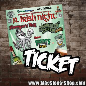 """10. Irish Night - Sägewerk Neukirchen"" Ticket"