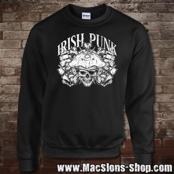 """Irish Punk"" Sweatshirt (black)"