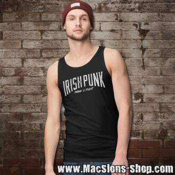 "Irish Punk ""Drink & Fight"" Tank-Top (black)"