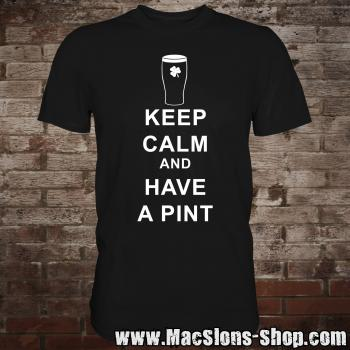 "Keep Calm ""And Have A Pint"" T-Shirt"