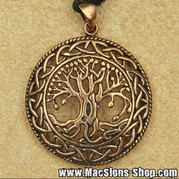 """Celtic Tree"" Kettenanhänger (Bronze)"