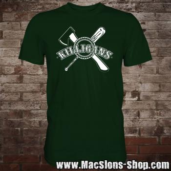 "Killigans ""Bat & Axe"" T-Shirt (green)"