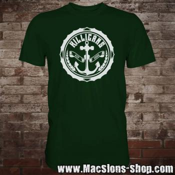 "Killigans ""Bottle Cap"" T-Shirt (green)"