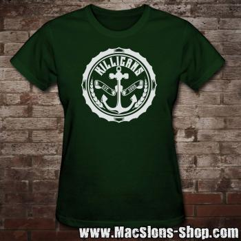 "Killigans ""Bottle Cap"" Girly-Shirt (green)"