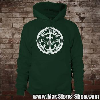 "Killigans ""Bottle Cap"" Hoodie (green)"