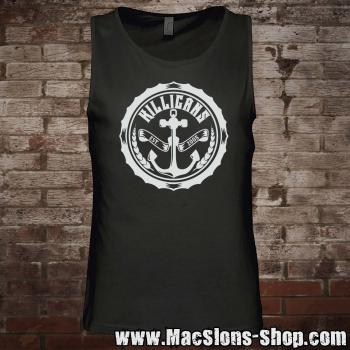 "Killigans ""Bottle Cap"" Tank-Top (black)"