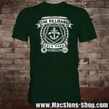 "Killigans ""Crest"" T-Shirt (green)"