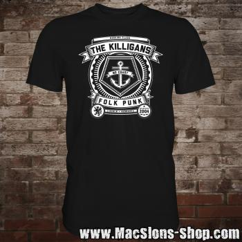 "Killigans ""Crest"" T-Shirt (black)"