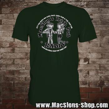 "MacSlon's ""Couple Logo"" T-Shirt (green)"