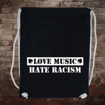 """Love Music - Hate Racism"" Gymsack"