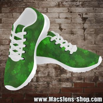 "MacSlon's ""Clover"" Men Running Shoes (white)"