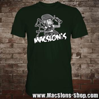 "MacSlon's ""Piper"" T-Shirt (green)"