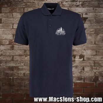 "Malt Whiskey ""Drinking Team"" Polo-Shirt (navy)"