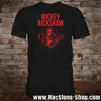 "Mickey Rickshaw ""Fang"" T-Shirt (black)"