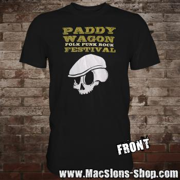 "Paddy Wagon ""Folk Punk Rock"" Festival 2018 (black)"