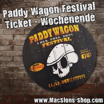 Paddy Wagon Festival 2019 - Ticket Wochenende
