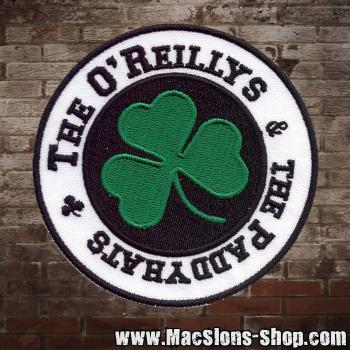 "O'Reilly's & The Paddyhats ""Shamrock"" Aufnäher"