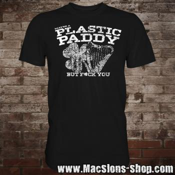 Maybe A Plastic Paddy... T-Shirt (black)