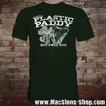 Maybe A Plastic Paddy... T-Shirt (green)