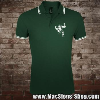 """Pub Fighter"" Polo-Shirt (green)"