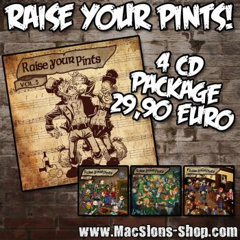 """Raise Your Pints"" (4CD Package)"