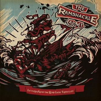 "Ramshackle Army ""Letters From The Road..."" LP (lim. 300, seablue/ oxblood)"