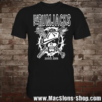 "Rumjacks ""Since 2008"" T-Shirt (white)"